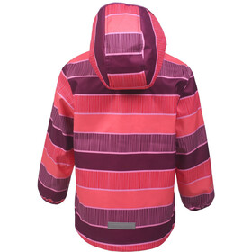 Color Kids Tadimir AOP Veste Softshell Fille, magenta purple
